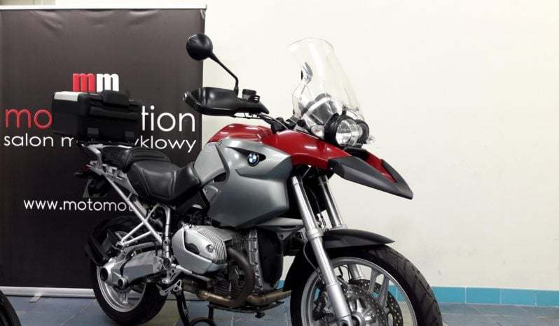 BMW R1200 GS – motocykl Adventure full